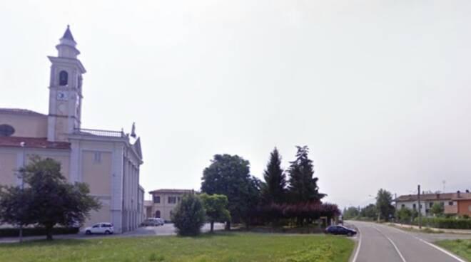 rotatoria di Villanova Mondovì