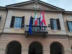 comune peveragno municipio bandiera unione europea mezz'asta