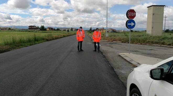 lavori strada fossano