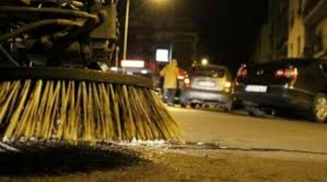 lavaggio strade