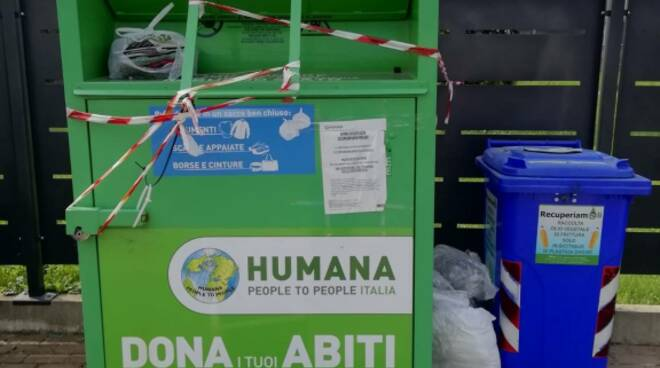 Humana People to People Italia abiti usati