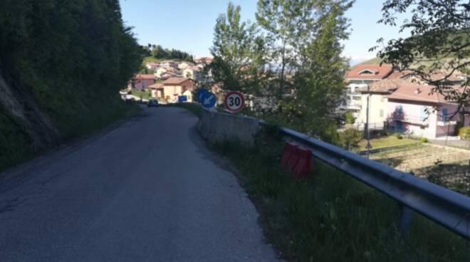 provinciale 347 a Monforte d'Alba