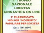 Gaia Brunori Ginnastica Saluzzo Libertas