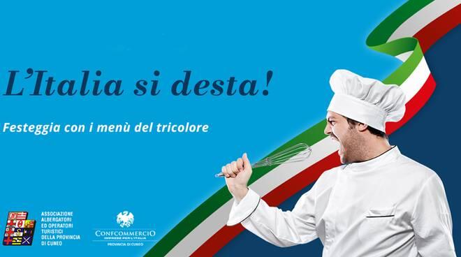 menù tricolore
