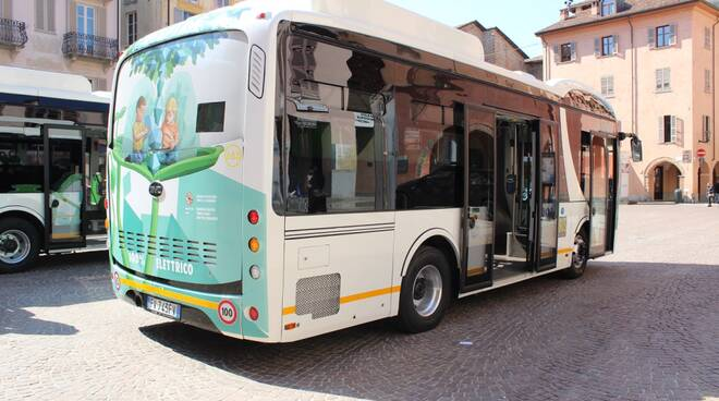 bus elettrico alba