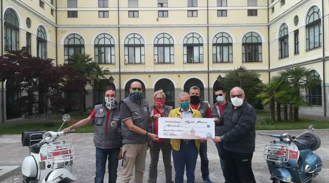 vespa club busca donazione covid 19
