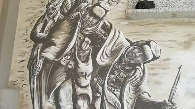 Murales Alpini Pianfei