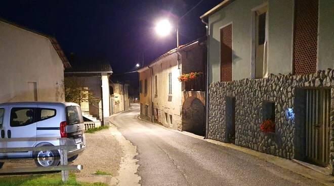 Illuminazione pubblica Rocca Cigliè