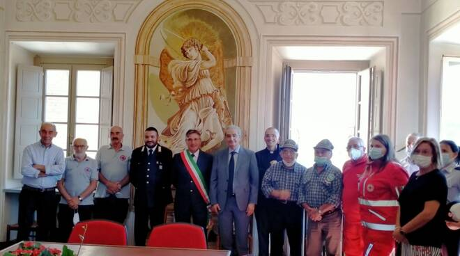 Visita Prefetto a San Michele Mondovi'
