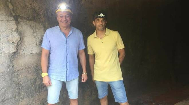 Sopralluogo miniera Nucetto