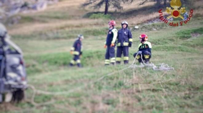incidente castelmagno 5 morti
