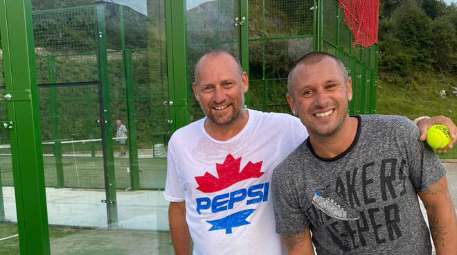 Gianluca Oliva e Antonio Cassano