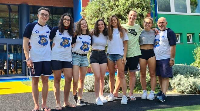 nuoto pinnato di Bra bronzo ai campionati italiani assoluti