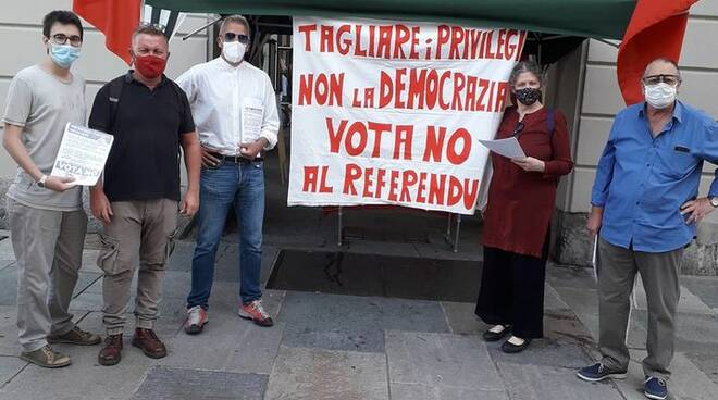 rifondazione comunista cuneo NO referendum
