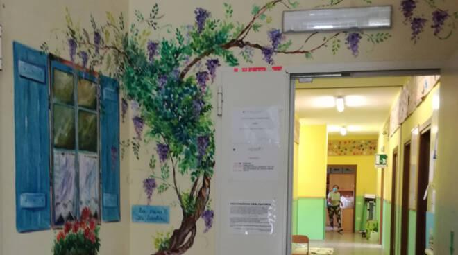 Decorazione scuola Frabosa Sottana