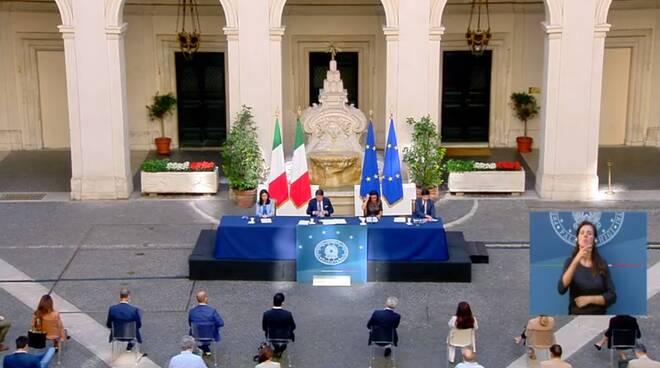 Conferenza stampa ministeriale 9 settembre 20