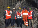 Ripresa lavori tunnel Tenda Bis