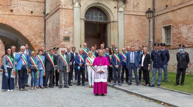 Vicoforte autorità celebrazione natività di Maria 2020