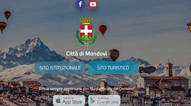 Nuovo sito internet del Comune di Mondovì