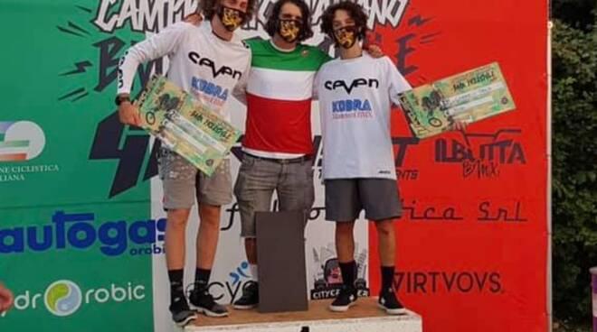 Alex Barbero campione italiano BMX Freestyle 2020