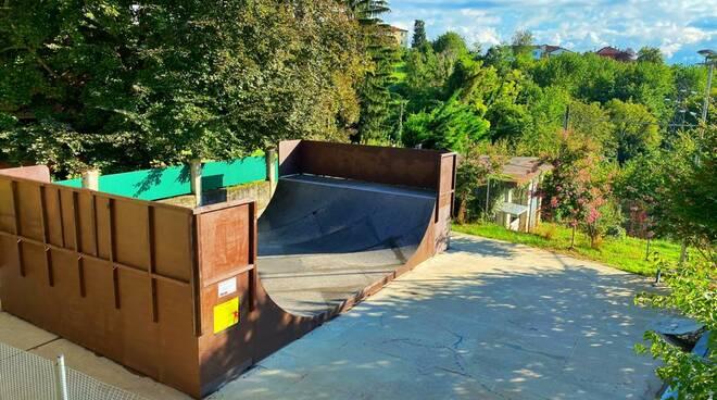Skate park di Briaglia