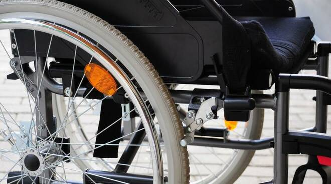 sedia a rotelle disabilità