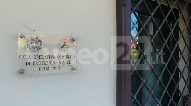 sala operativa comunale protezione civile Mondovì