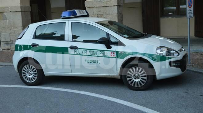 polizia locale Vicoforte