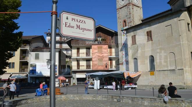 piazza Edue Magnano San Giacomo di Roburent