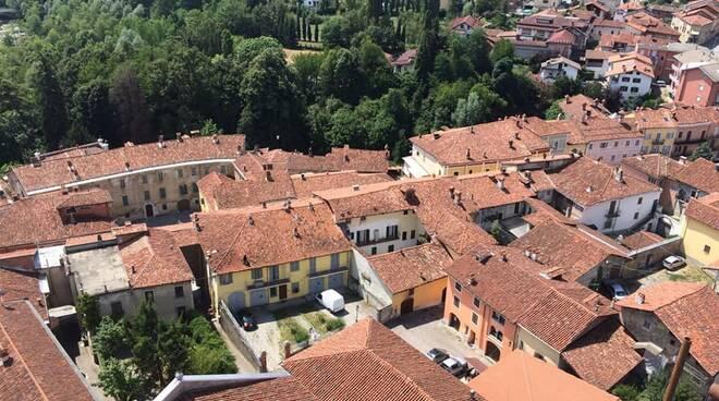 San Michele Mondovì dall'alto