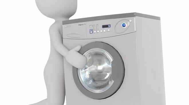 furto lavatrice