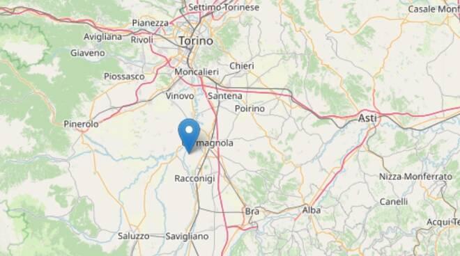 terremoto Casalgrasso 25 settembre