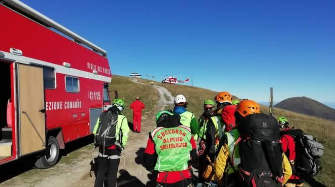 Ricerche soccorso alpino Limone Piemonte