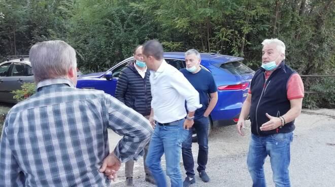 Sopralluogo strada dei Castagneti Niella Tanaro