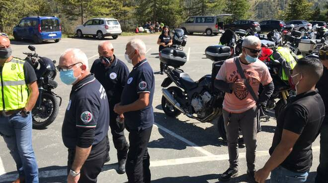 Motoraduno motoclub vigili del fuoco