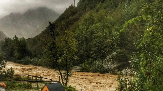 fiume Tanaro a Ormea