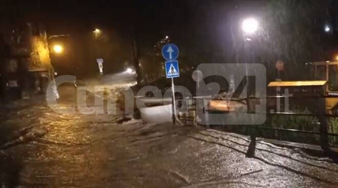 Limone Piemonte alluvione