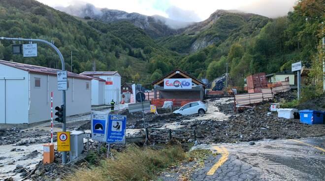 Tenda Bis cantiere alluvionato