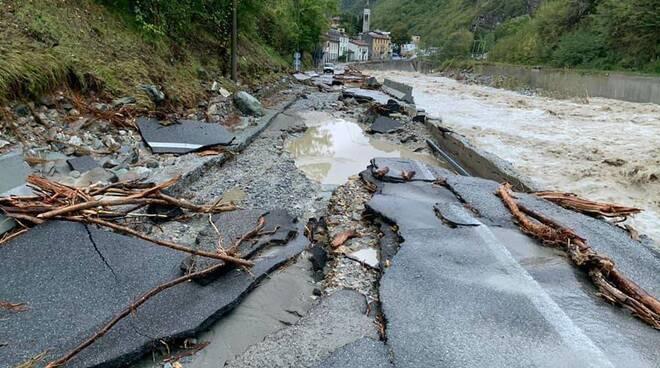 Ormea alluvione 2020
