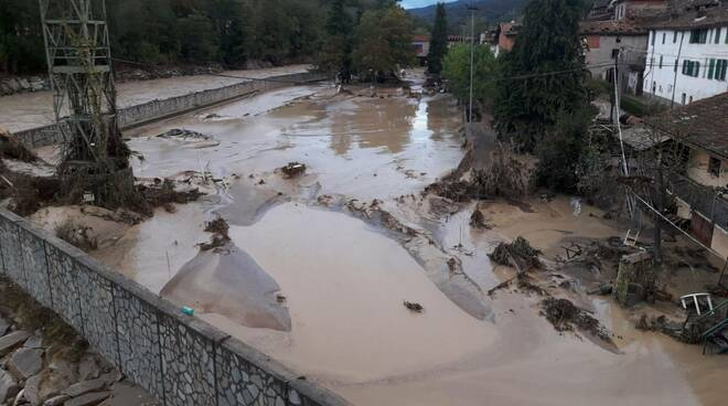 Nucetto alluvione 2020