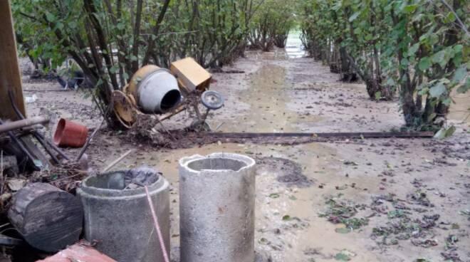 alluvione frazione Reculata Carrù
