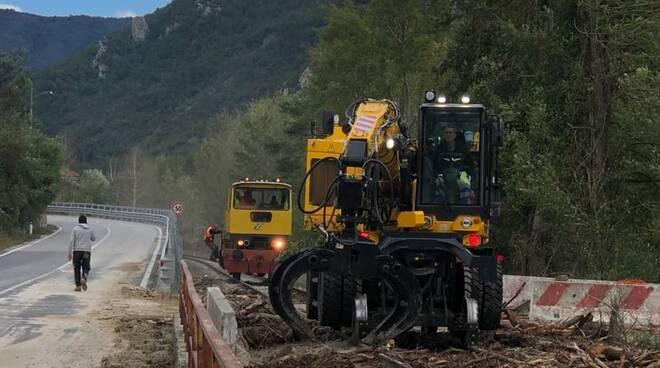 Ferrovia Tanaro lavori