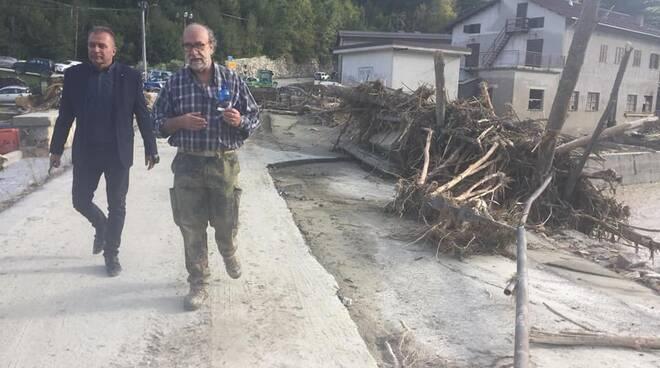 alluvione Pamparato 2020