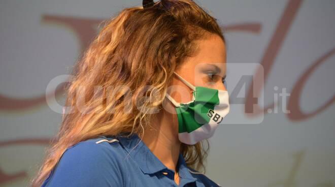 Michela Moioli mascherina