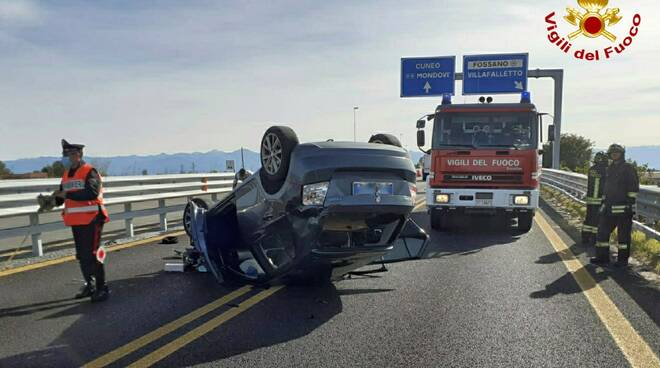 Incidente tangenziale Fossano