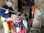 Protezione Civile ANA Cuneo alluvionale nel Cuneese