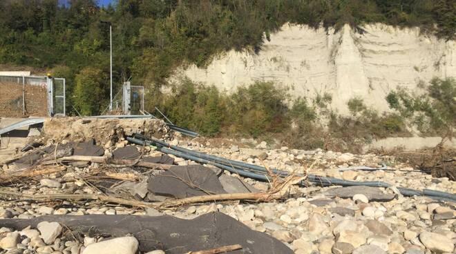 danni alluvione Farigliano