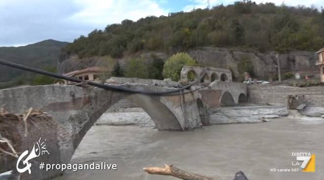 ponte romano Bagnasco propaganda live