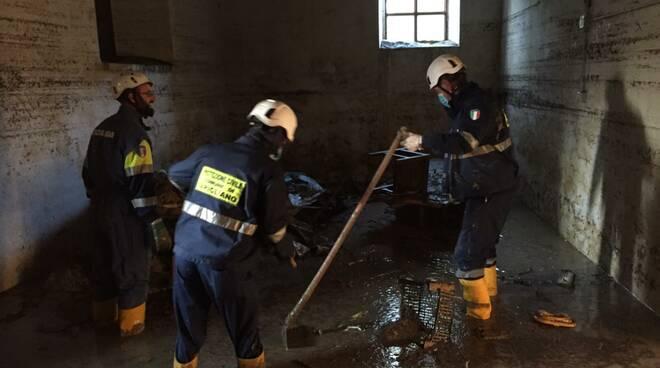 protezione civile Farigliano a Bagnasco