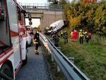 incidente carrù torino-savona 2 deceduti